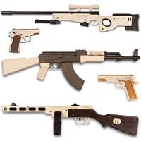 Сборные модели оружия