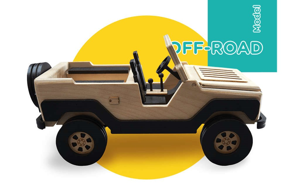 Сборная модель T.A.R.G. Off-road, Внедорожник