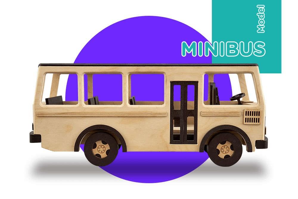 Сборная модель T.A.R.G. Minibus