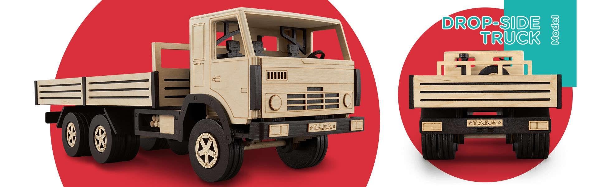 Сборная модель T.A.R.G. Бортовой грузовик - фото 4963