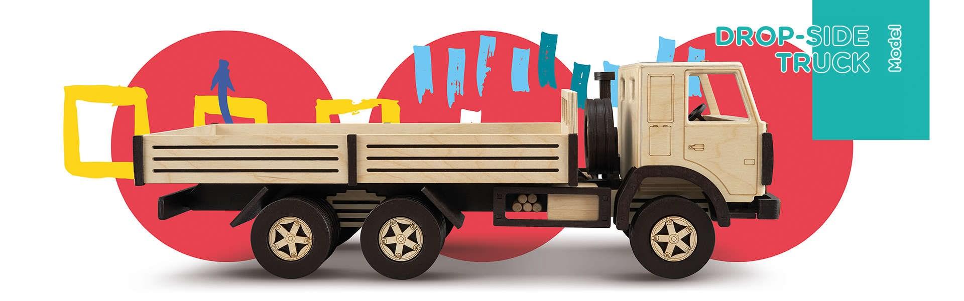 Сборная модель T.A.R.G. Бортовой грузовик - фото 4973