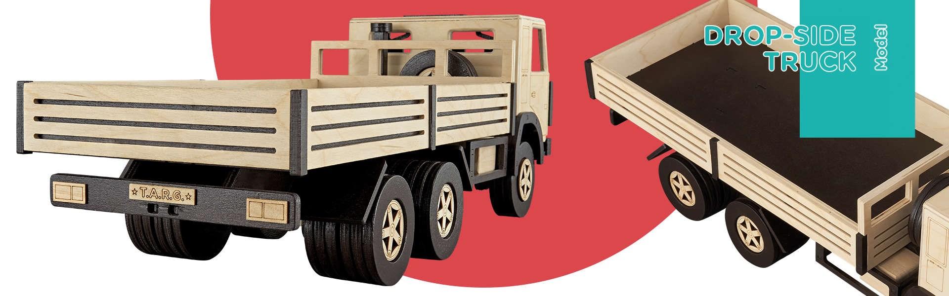 Сборная модель T.A.R.G. Бортовой грузовик - фото 4975