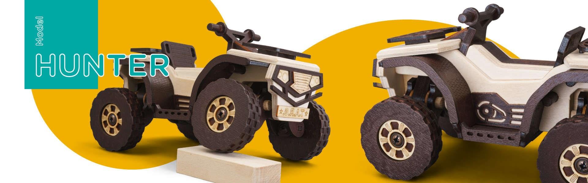 Сборная модель T.A.R.G. Hunter. Квадроцикл - фото 4977