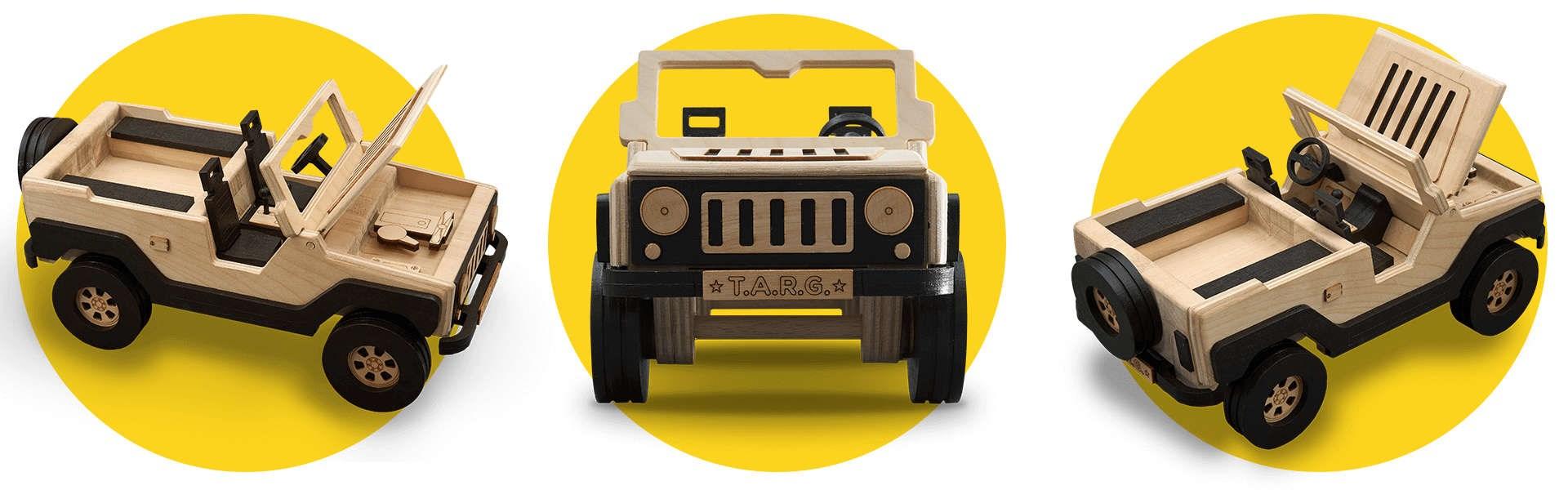 Сборная модель T.A.R.G. Off-road, Внедорожник - фото 4955