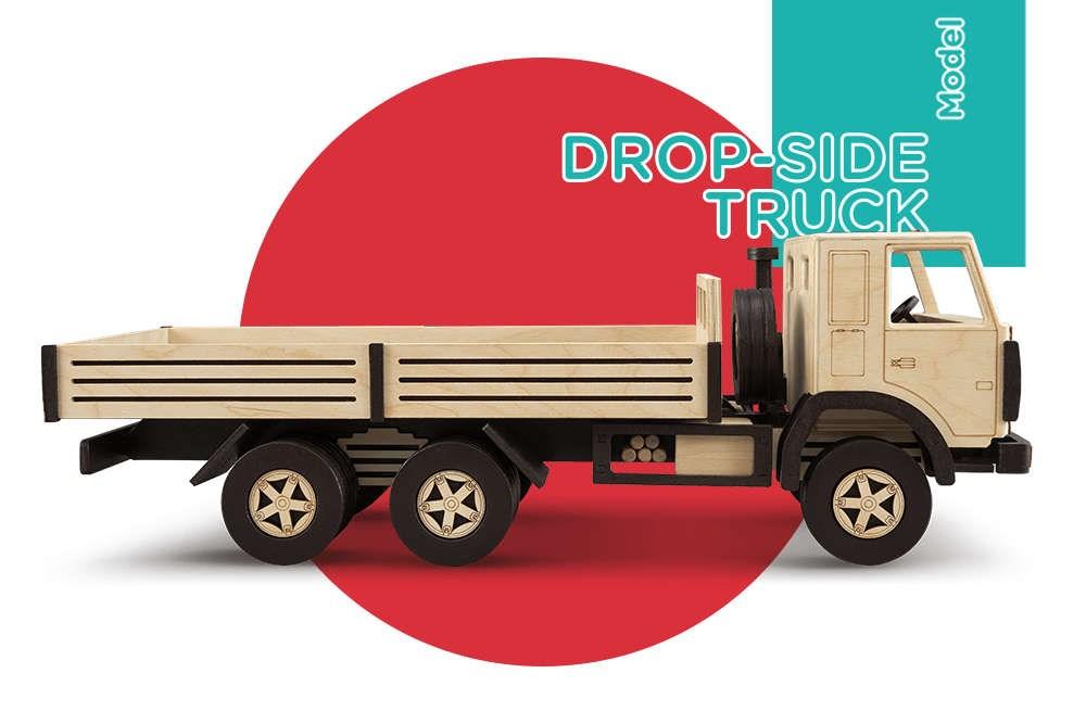 Сборная модель T.A.R.G. Бортовой грузовик - фото 4962