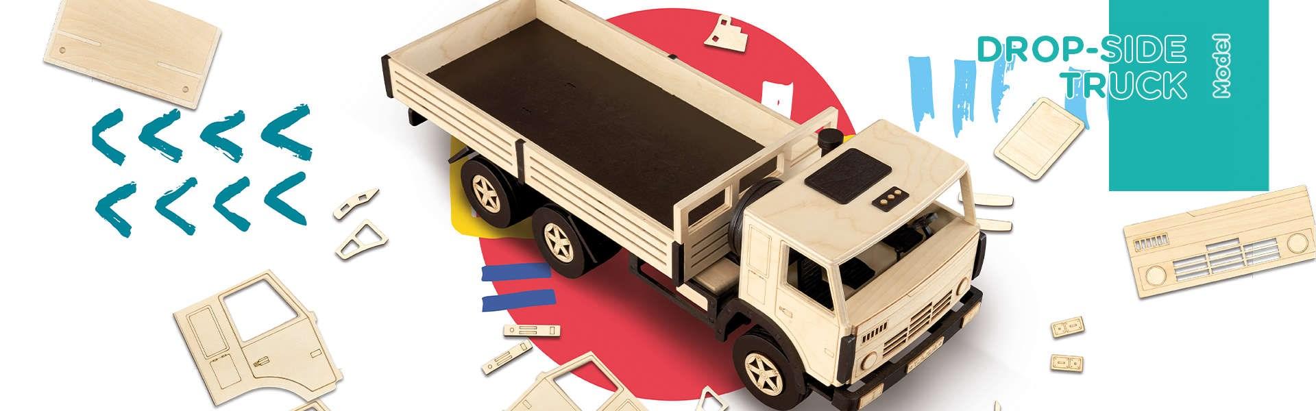 Сборная модель T.A.R.G. Бортовой грузовик - фото 4974