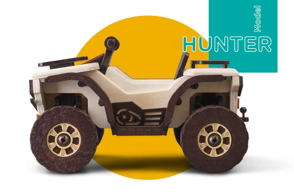Сборная модель T.A.R.G. Hunter. Квадроцикл