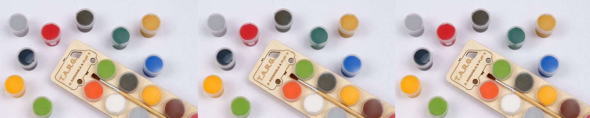 Набор акриловых красок 12 x 4 мл - фото 5088