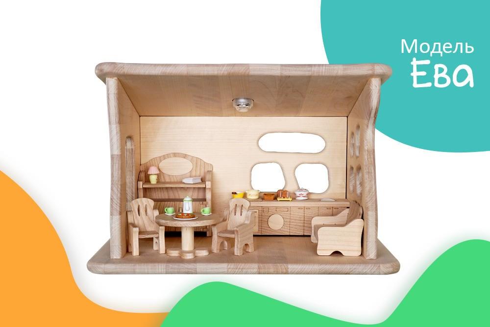 Кукольный домик ЕВА